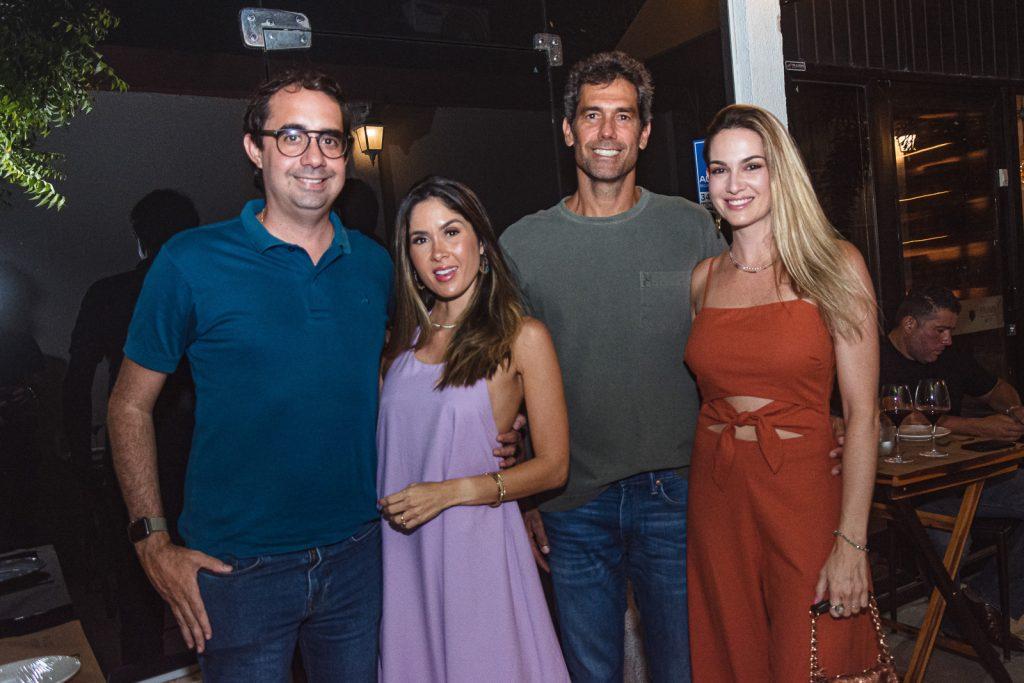 Pedro Castro, Manoela Castro, Victor Melo E Germana Melo