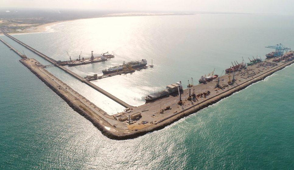 Porto do Pecém registra marca histórica na sua movimentação de mercadorias