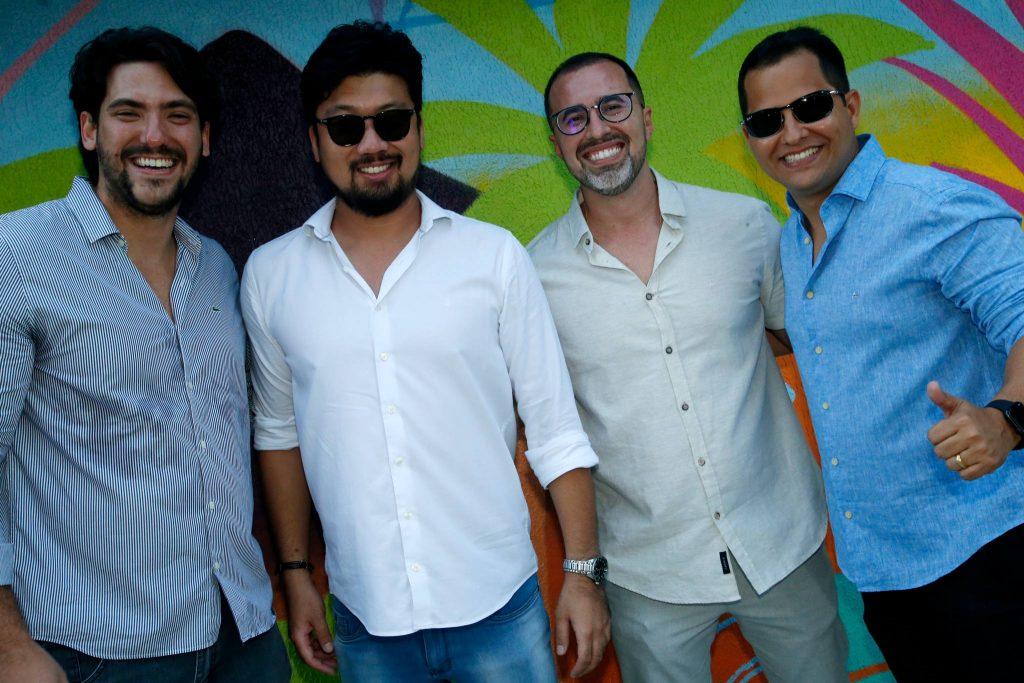 Raul Mota, Nathan Hirano, Nelson Motenegro E Arimatea Junior