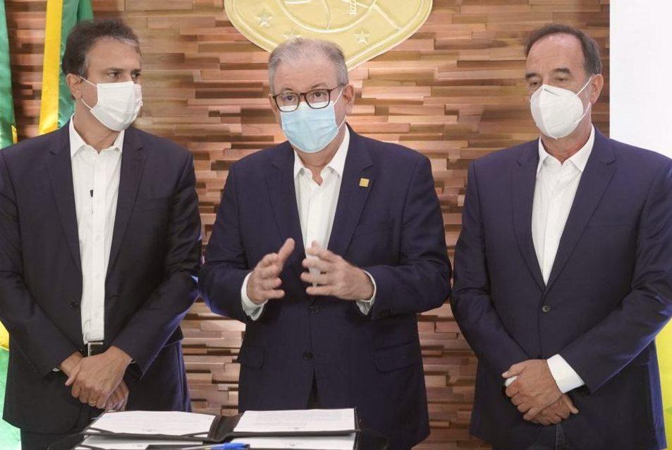 Ricardo Cavalcante celebra investimentos de R$ 36 bilhões para o Hub de H2V