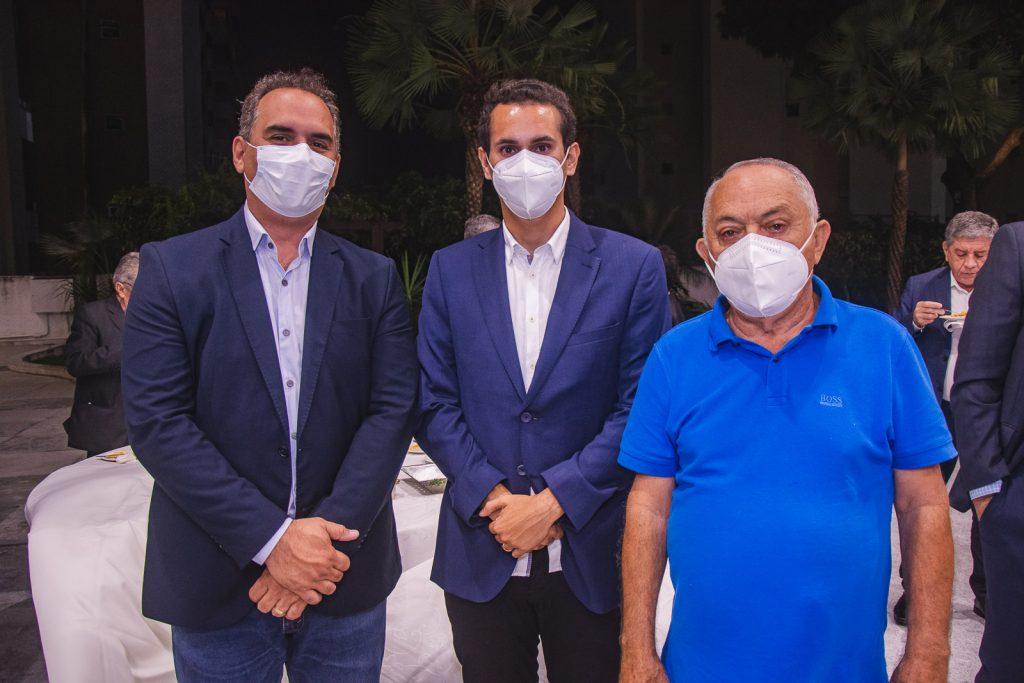 Ricardo Silveira, Domingos Neto E Luiz Menezes De Lima