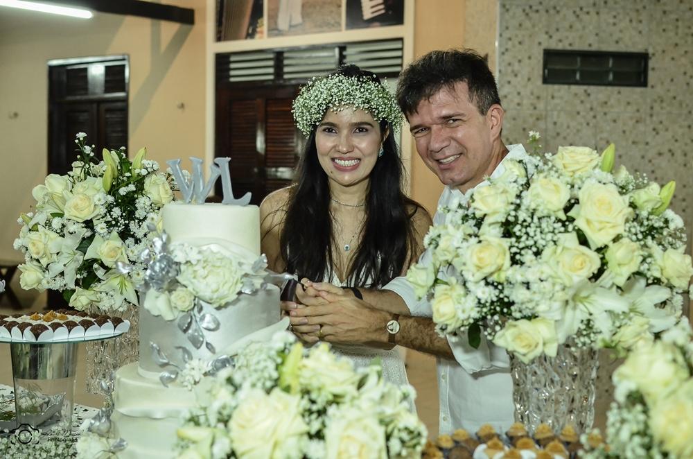 Waldonys e Luciana Moreno celebram seus 25 anos de casados