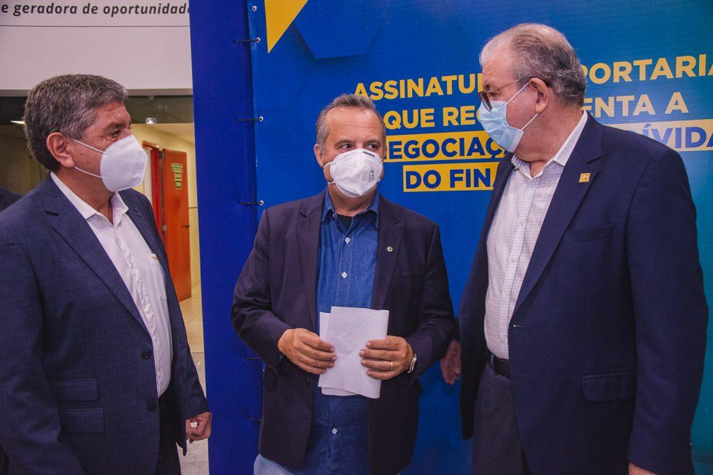 Sampaio Filho, Rogerio Marinho E Ricardo Cavalcante