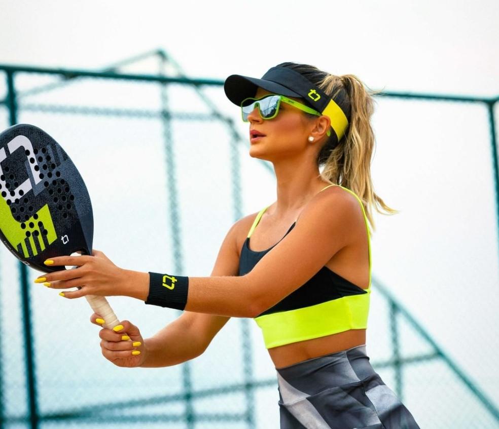 Thássia Naves lança collab exclusiva com a Diamond Desing inspirada no Beach Tennis