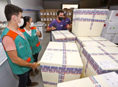 Sesa nega que Estado tenha distribuído vacinas com prazo de validade vencido