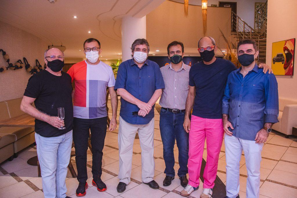 Vando Figueiredo, Fabiano Chaves, Totonho Laprovitera, Joao Belo, Mano Alencar E Isaac Furtado