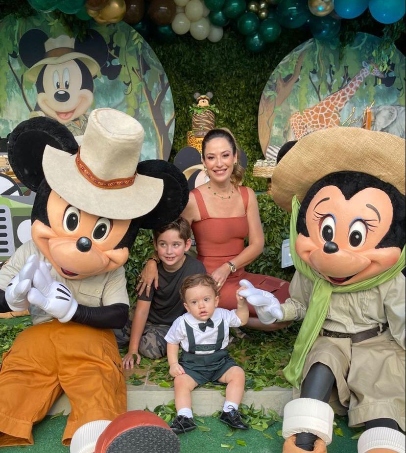 Silvinha e Rafael Leal celebram o primeiro aninho do caçula Gabriel