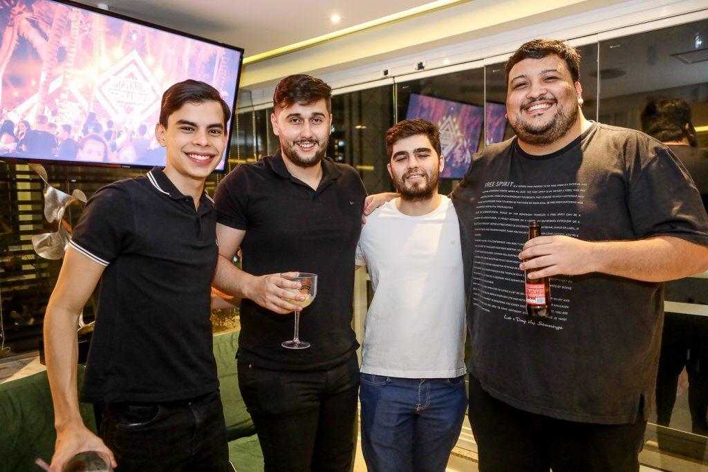 Yago Viana, Caio Rodrigues, Lucas Morais E Fernando Tabosa