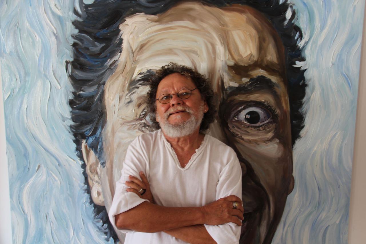 Zé Tarcísio celebra seus 60 anos de carreira com exposição de suas obras na Sculpt Galeria
