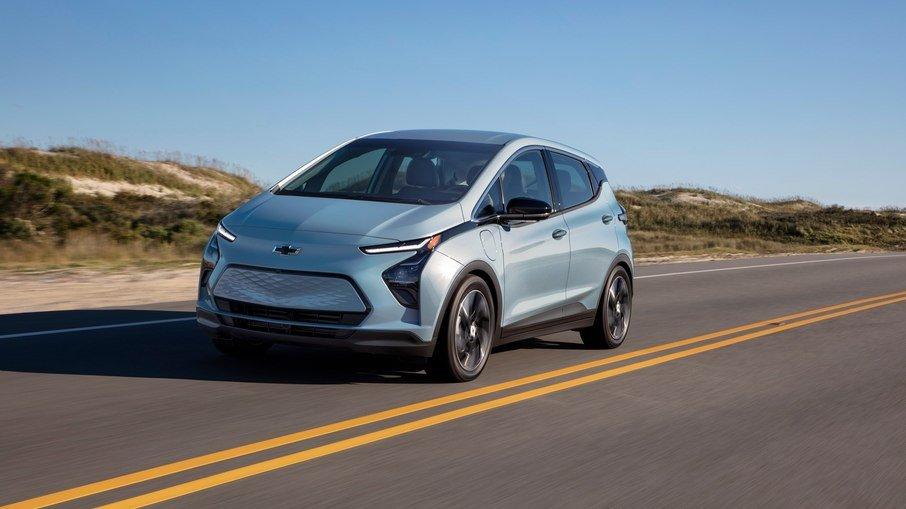 GM afirma que seu elétrico Bolt EV chega em setembro