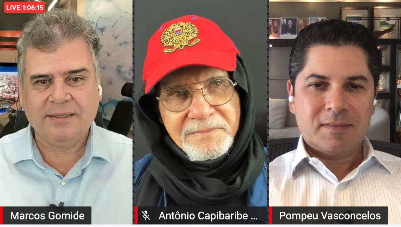 Canal 2Go IN recebe Antônio Capibaribe Neto para falar sobre suas vivências em Cabul