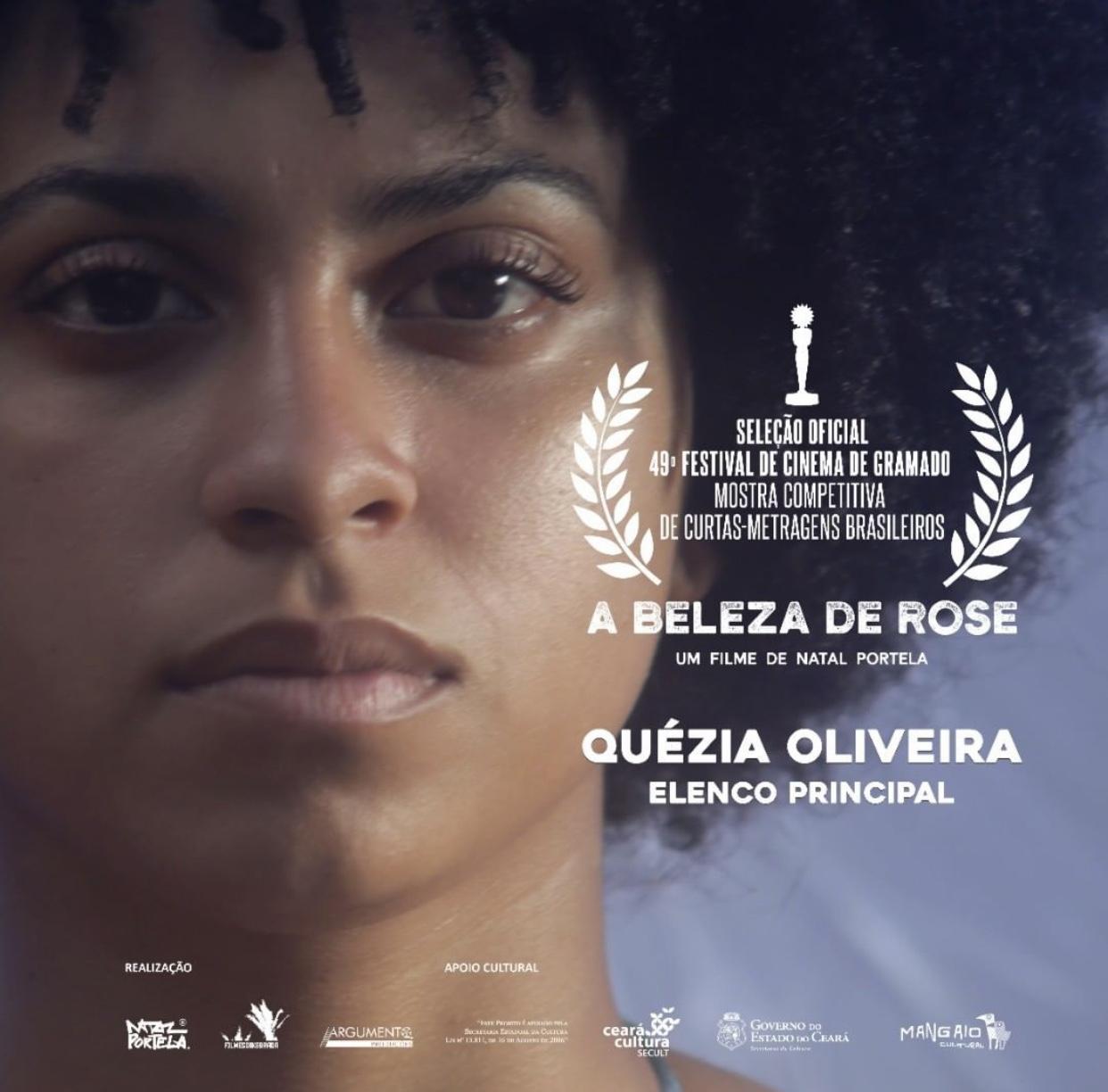 Filme cearense, A Beleza de Rose, está na programação do Festival de Gramado