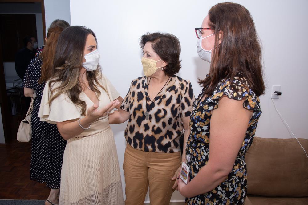 Adriana Queiroz, Ina Gonzaga E Judith Caetano