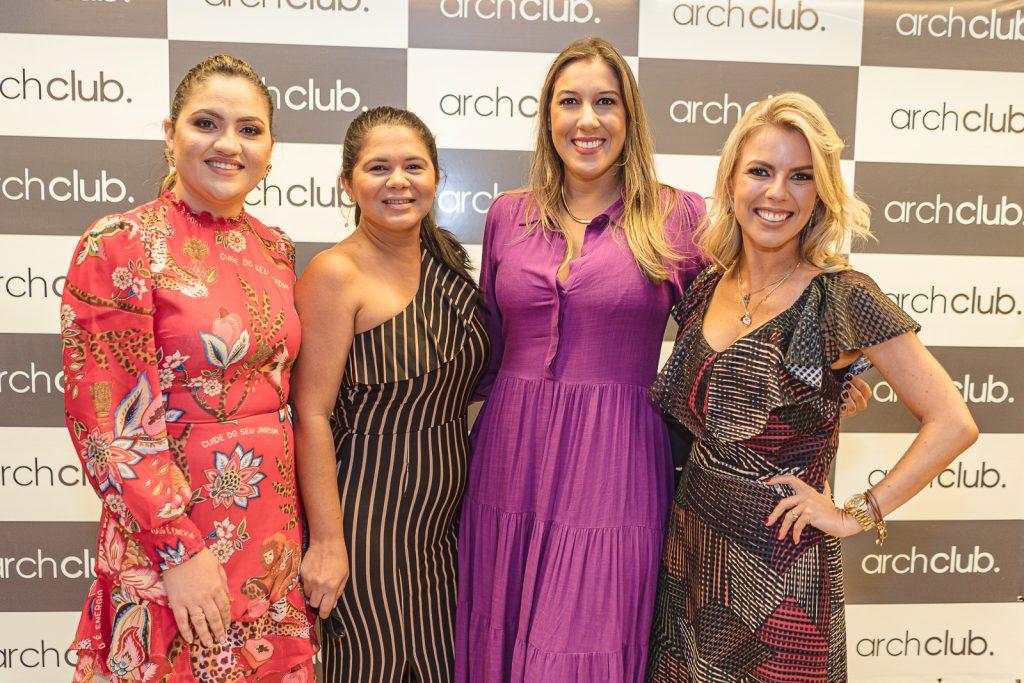 Adriele Fidelez, Maria Teles, Lorena Lepri E Priscilla Bencke