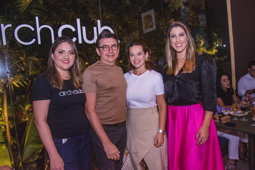 Adriele Fidelez, Racine Mourao, Anik Mourao E Lorena Lepri