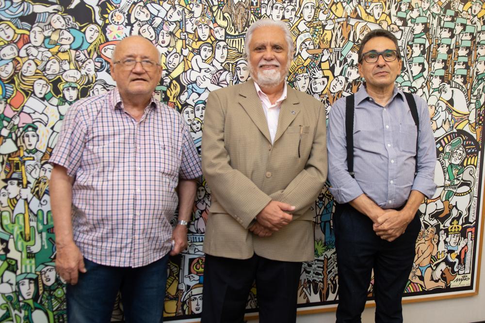 Aloisio Ramalho, Joaquim Cartaxo E Airton Gonçalves