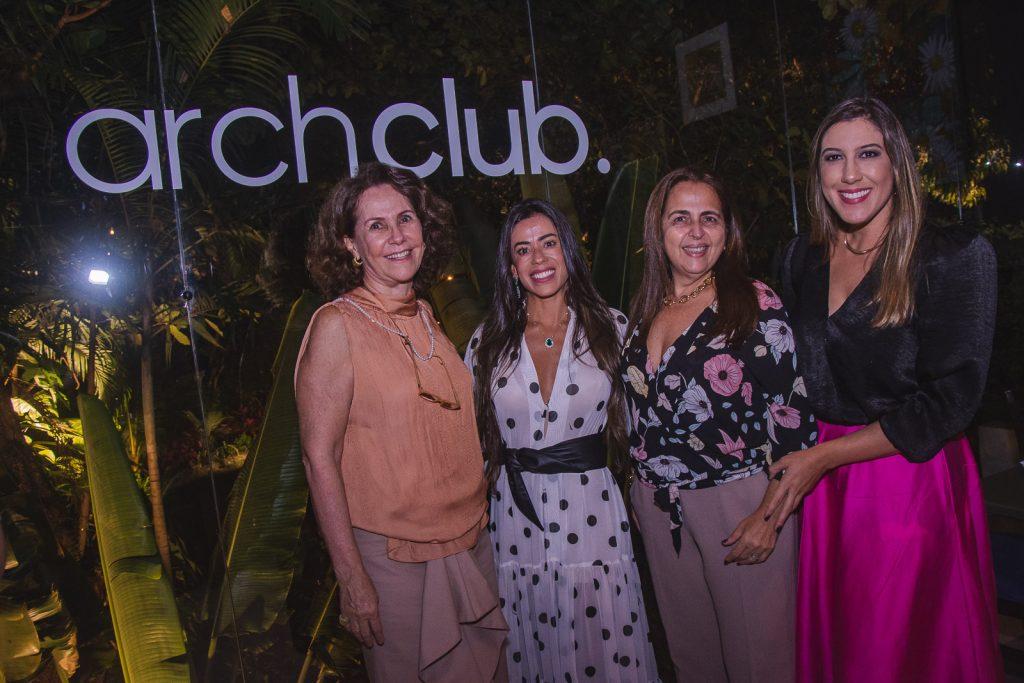 Ana Elisa Perdigao, Germana Rabelo, Claudia Castelo Branco E Lorena Lepri