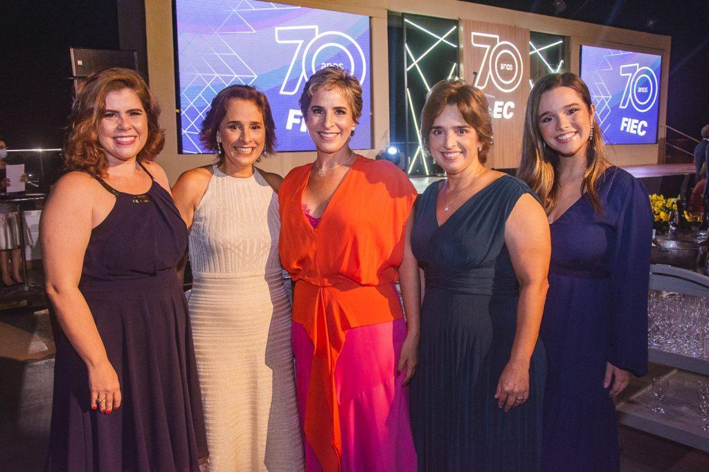 Ana Elisa Sidrim, Paola Targino, Leticia Targino, Claudia Targino E Luiza Targino