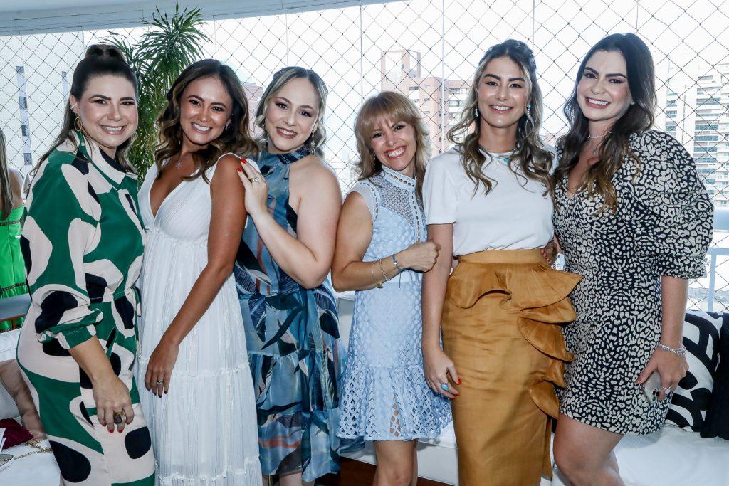 Ana Santos, Bia Bezerra, Giana Albuquerque, Patricia Holanda, Mariana Pimenta E Dezirre Cavalcante
