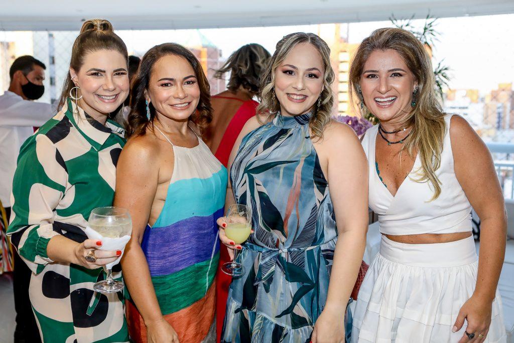 Ana Santos, Simone Fonseca, Giana Albuquerque E Patriciana Rodrigues