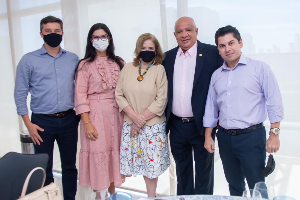 André Siqueira, Karina Frota, Roseane Medeiros, Pedro Alfredo Neto E Pompeu Vascocelos