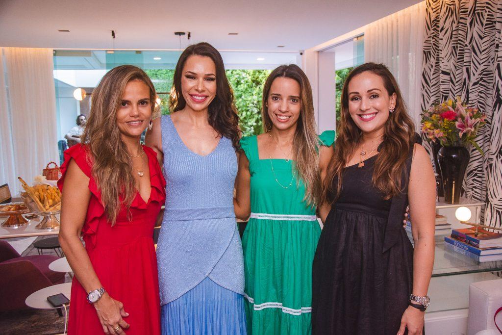 Andrea Parayba, Lorena Gondim, Rafaela Benevides E Michele Queiroz