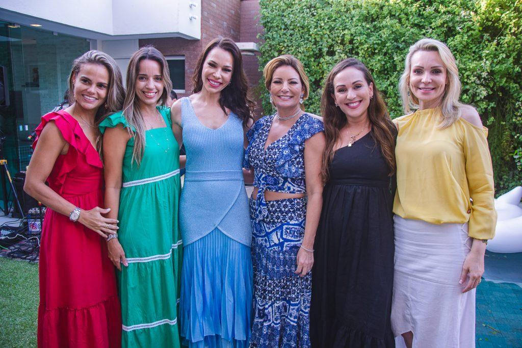 Andrea Parayba, Rafaela Benevides, Lorena Gondim, Tatiana Luna, Michele Queiroz E Rebeca Fujita