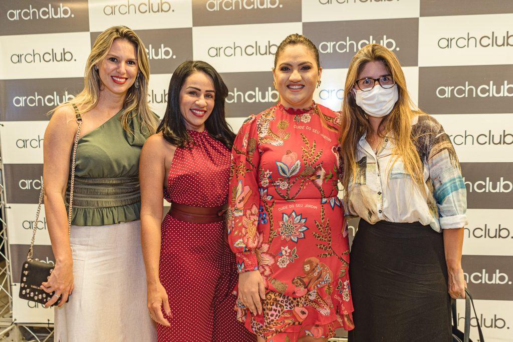 Apoliana Albuquerque, Kelvia Saraiva, Adriele Fidelez E Celina Dias