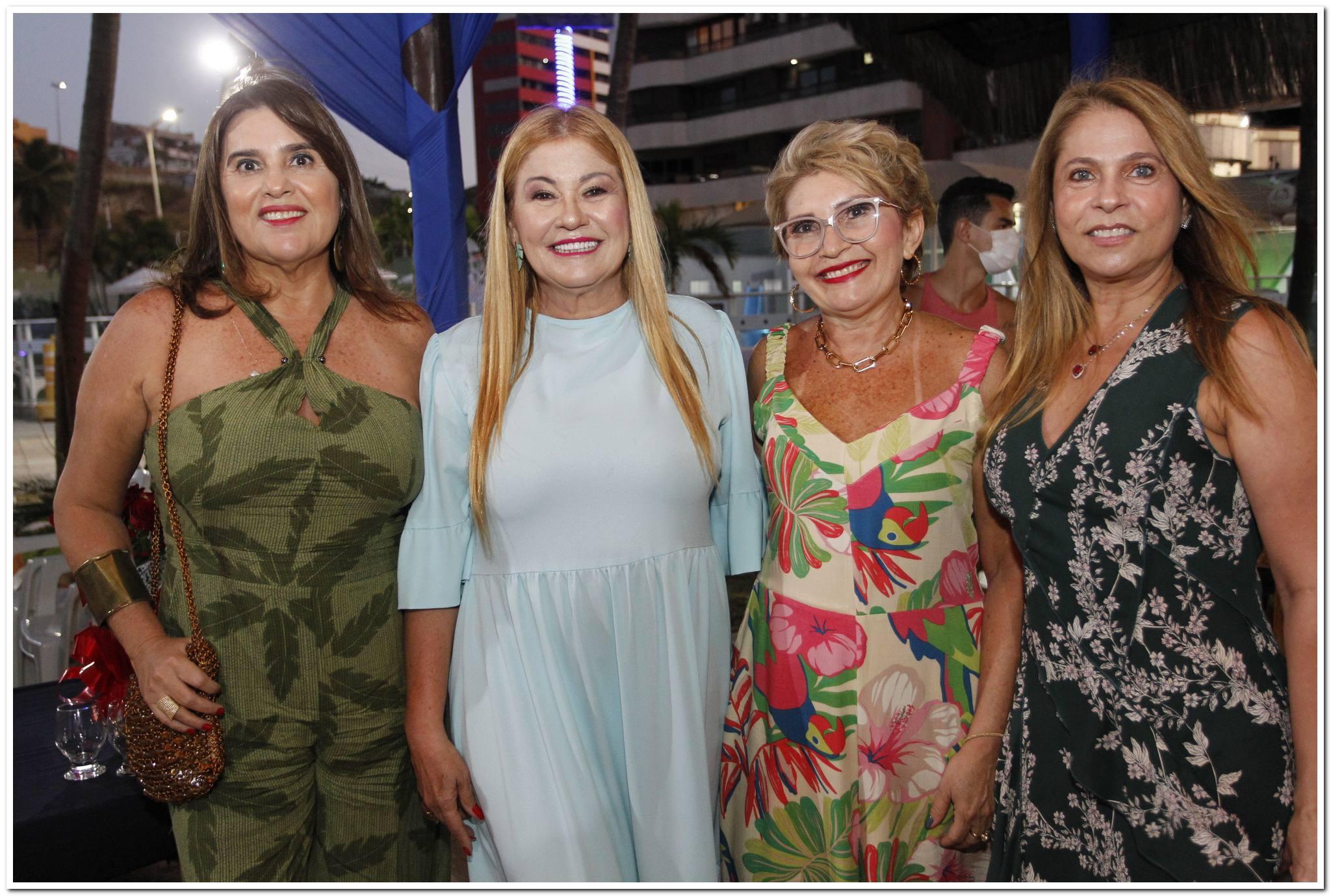 Arlene De Paula Pessoa, Stela Salles, Salete Araujo E Morgana Linhares