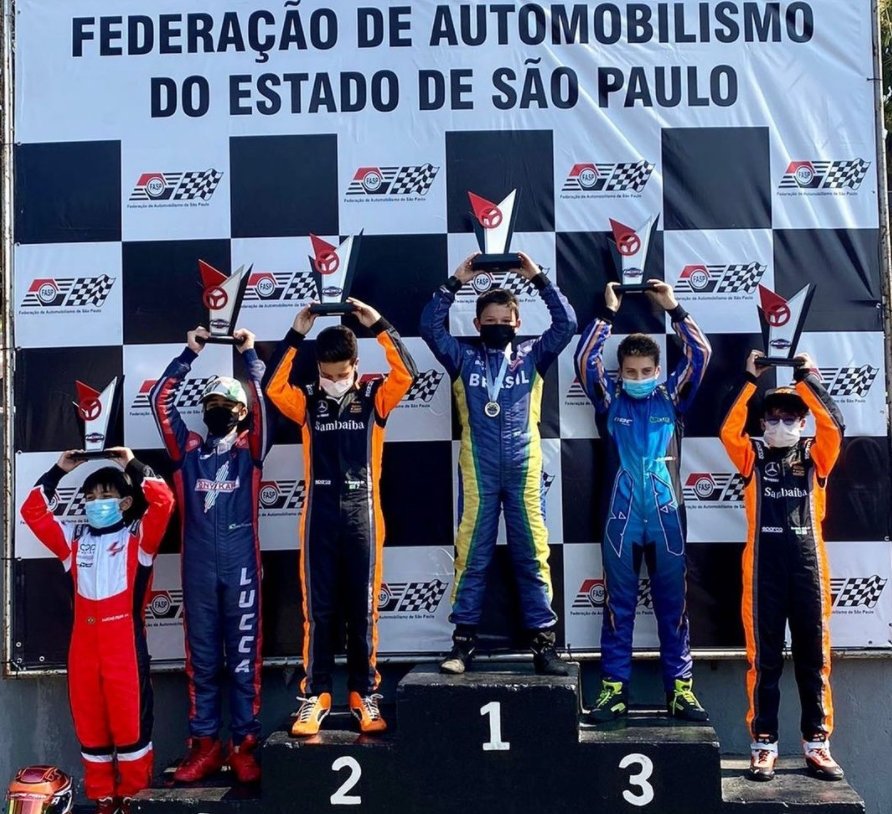 Bernardo Gentil se destaca na sexta etapa da Copa São Paulo Light de Kart 2021
