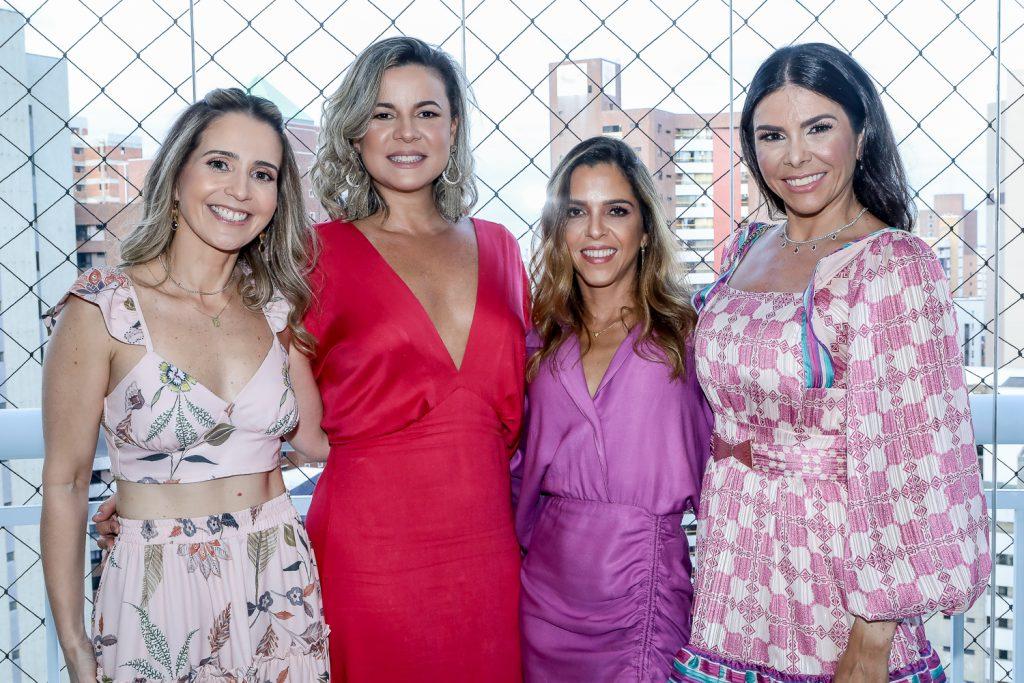 Beatriz Dantas, Eliene Ferreira, Clissi Noroes E Roberta Costa