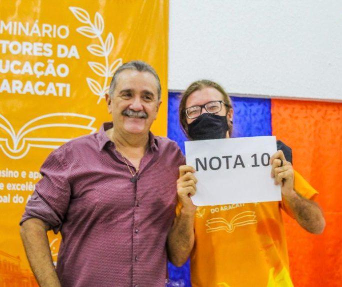 Prefeitura do Aracati realiza seminário para fortalecer o processo educacional