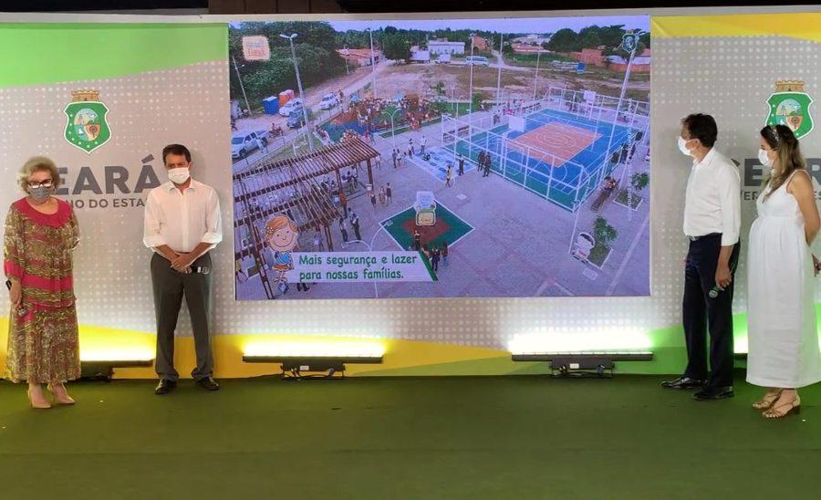Camilo anuncia a construção da Cidade Mais Infância 250 brinquedopraças em todo o território cearense