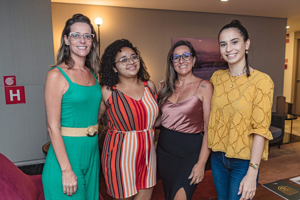 Camila Leite, Kaciene Caitano, Lea Castro E Julia Cavalcante