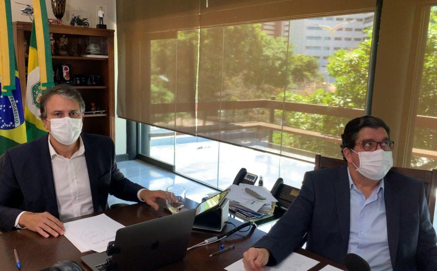 Camilo assina parceria com a Fiocruz visando desenvolver a vacina da Uece