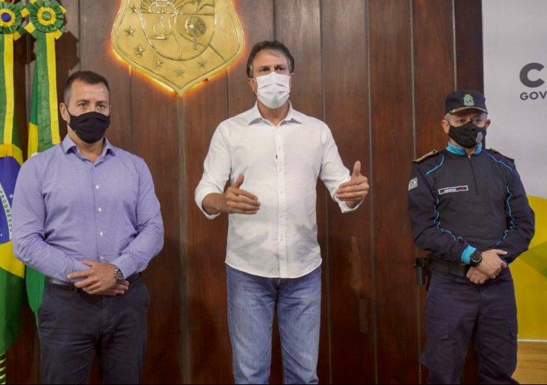 Camilo anuncia concurso público com duas mil vagas para a Polícia Militar