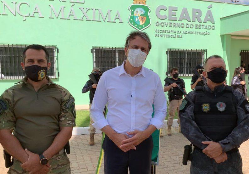 Camilo inaugura moderna penitenciária de segurança máxima do Estado do Ceará