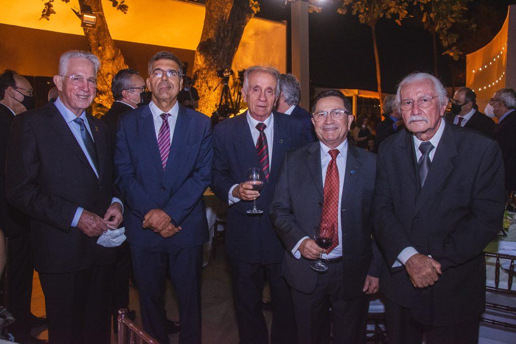 Carlos Prado, Lauro Chaves, Joao Guimaraes, Alcir Porto E Chico Barreto