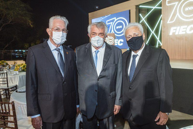 Dupla comemoração - FIEC celebra seus 70 anos com a entrega da Medalha do Mérito Industrial