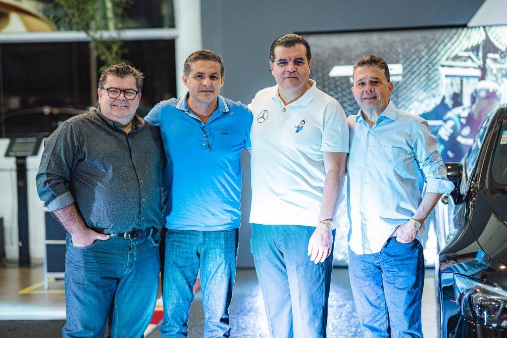 Carlucio Cardoso, Cleber Pereira, Odmar Feitosa E Gerardo Bastos