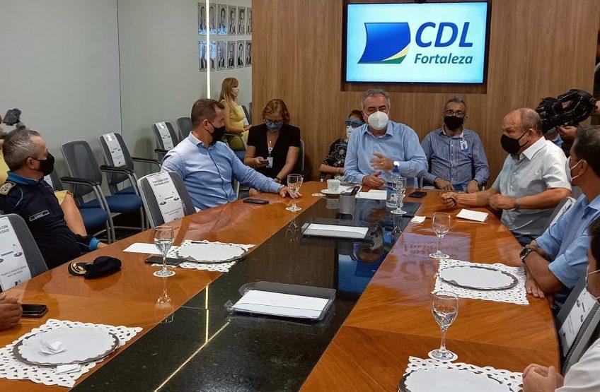CDL de Fortaleza solicita ações de reforço no policiamento das áreas comerciais