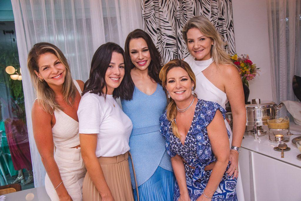 Cecilia Dafonte, Carla Brasil, Lorena Gondim, Tatiana Luna E Rachel Fortes