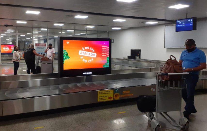 Centro Fashion inicia divulgação na área de desembarque do Fortaleza Airport