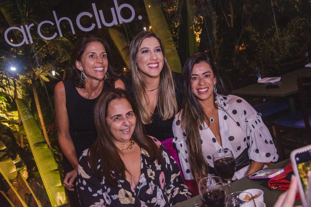 Cibele Parreiras, Claudia Castelo Branco, Lorena Lepri E Germana Rabelo