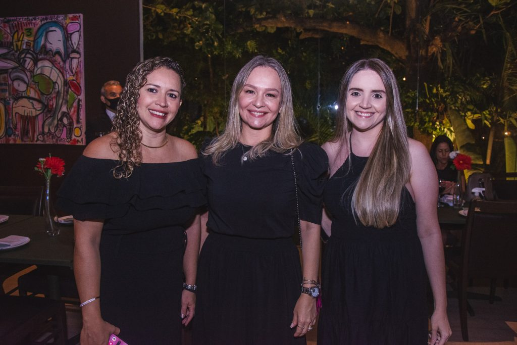 Clarisse Goncalves, Veronica Martinez E Nayara Oliveira