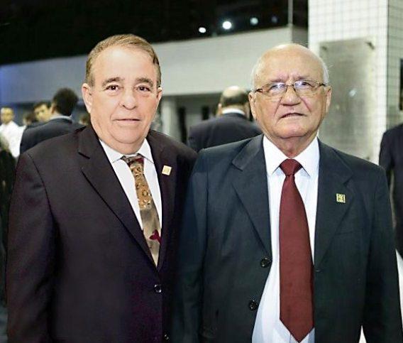 FIEC realiza a entrega da Medalha do Mérito Industrial para os empresários Aluísio Ramalho e Cláudio Targino