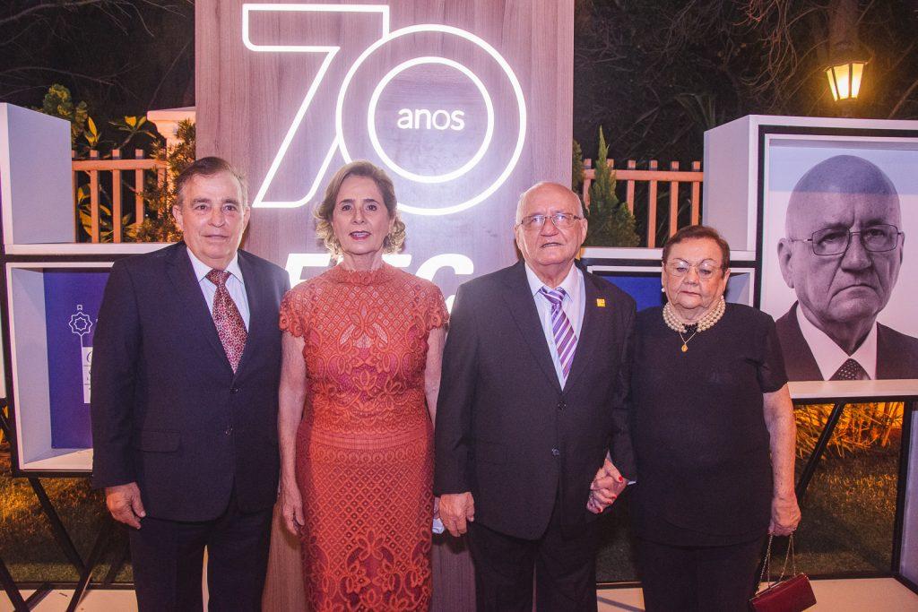 Claudio Targino, Zena Targino, Aluisio Ramalho E Ester Ramalho