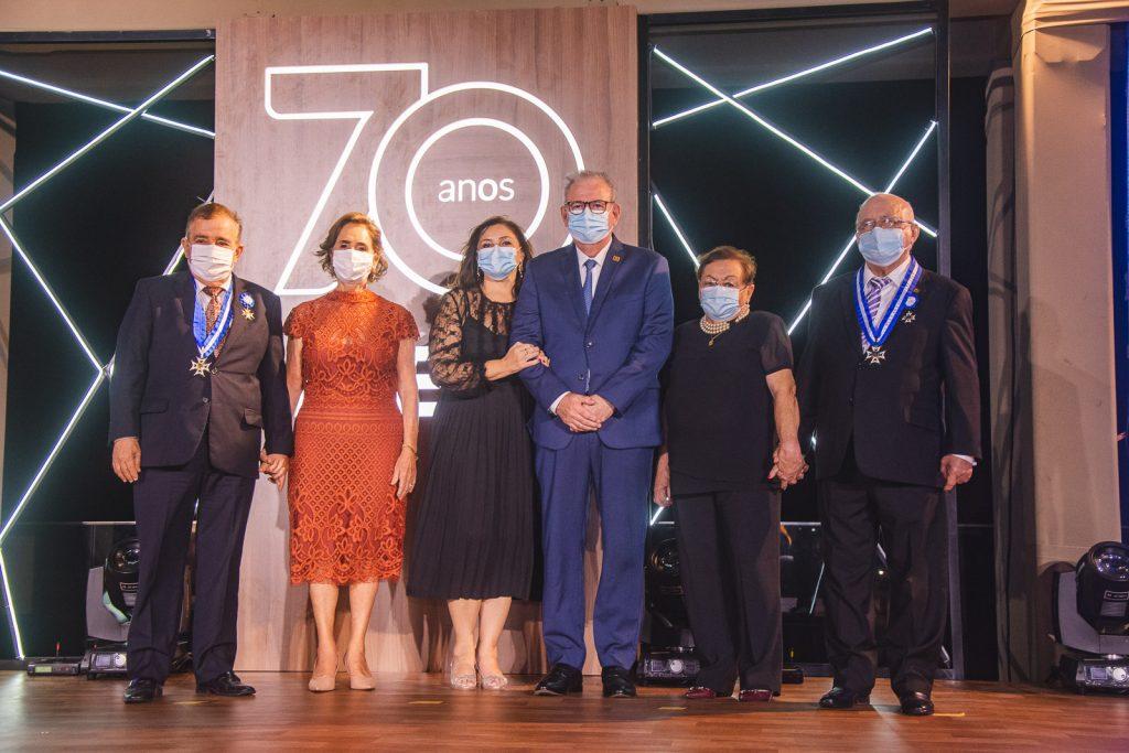 Claudio Targino, Zena Targino, Rosangela Cavalcante, Ricardo Cavalcante, Ester Ramalho E Aluisio Ramalho