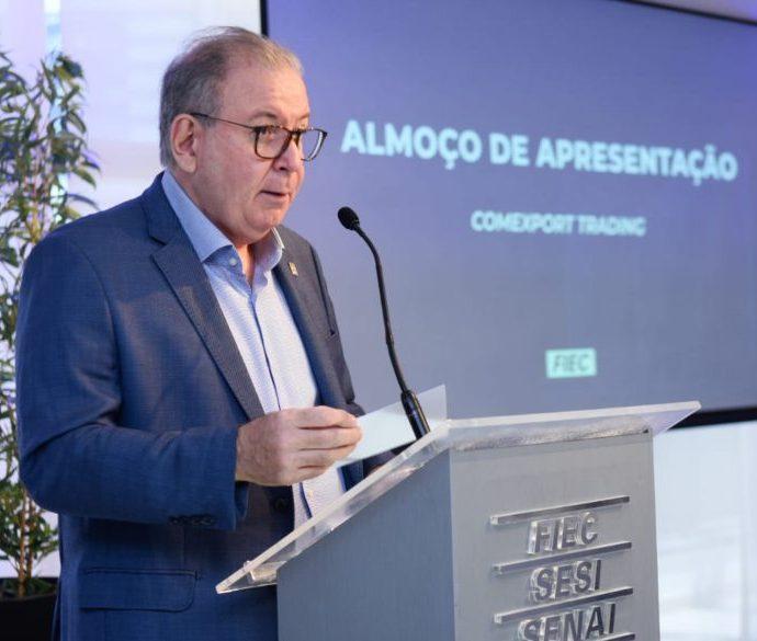 Ricardo Cavalcante anuncia os projetos com a Comexport Trading no Ceará