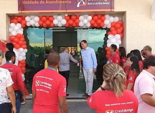 BNB amplia atuação do Crediamigo e inaugura nova unidade em Jaguaribe